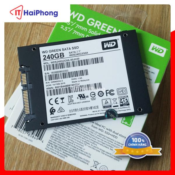 SSD WD 240gb Hải Phòng