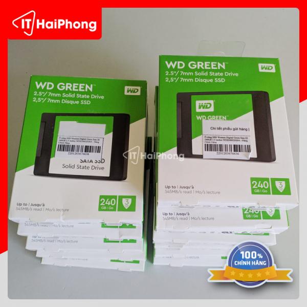 SSD WD 240gb Green