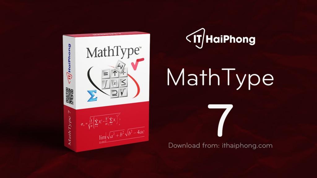 Mathtype 7 full