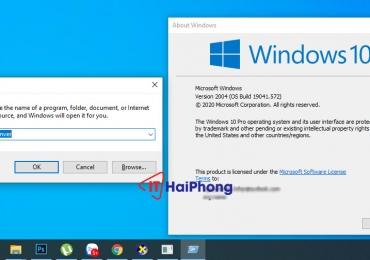 Kiểm tra phiên bản windows